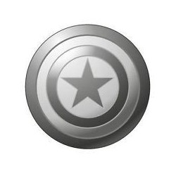 Badge métal Marvel / Marvel label pin Captain America
