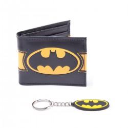 Batman pack combo porte-monnaie & porte-clés